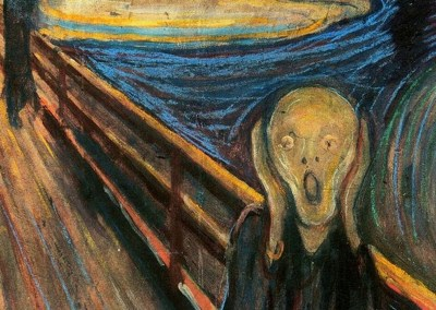 the scream - panic attack