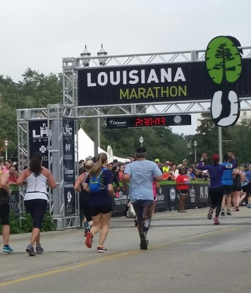 Meredith finishing strong!