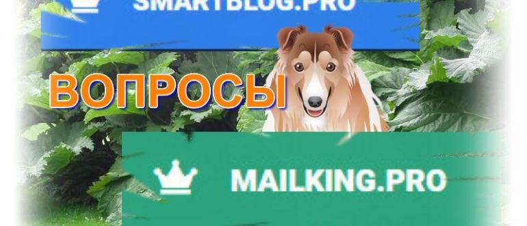 Рассылка от MAILKING.PRO - окно с ошибкой 404
