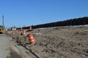 Berm Construction (East Side) (02/2015)