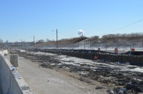 Berm Construction (South Side) (02/2015)