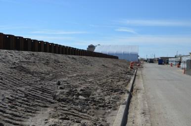 Berm Construction (East Side) (03/2015)