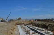 Berm Construction (West Side) (04/2015)