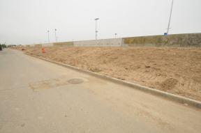 Berm Construction (West Side) (05/2015)