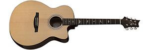 Signed PRS SE AX20E Acoustic-Electric Guitar
