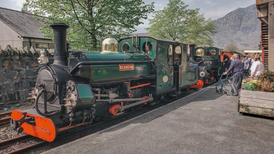 The Festiniog Railway in North Wales