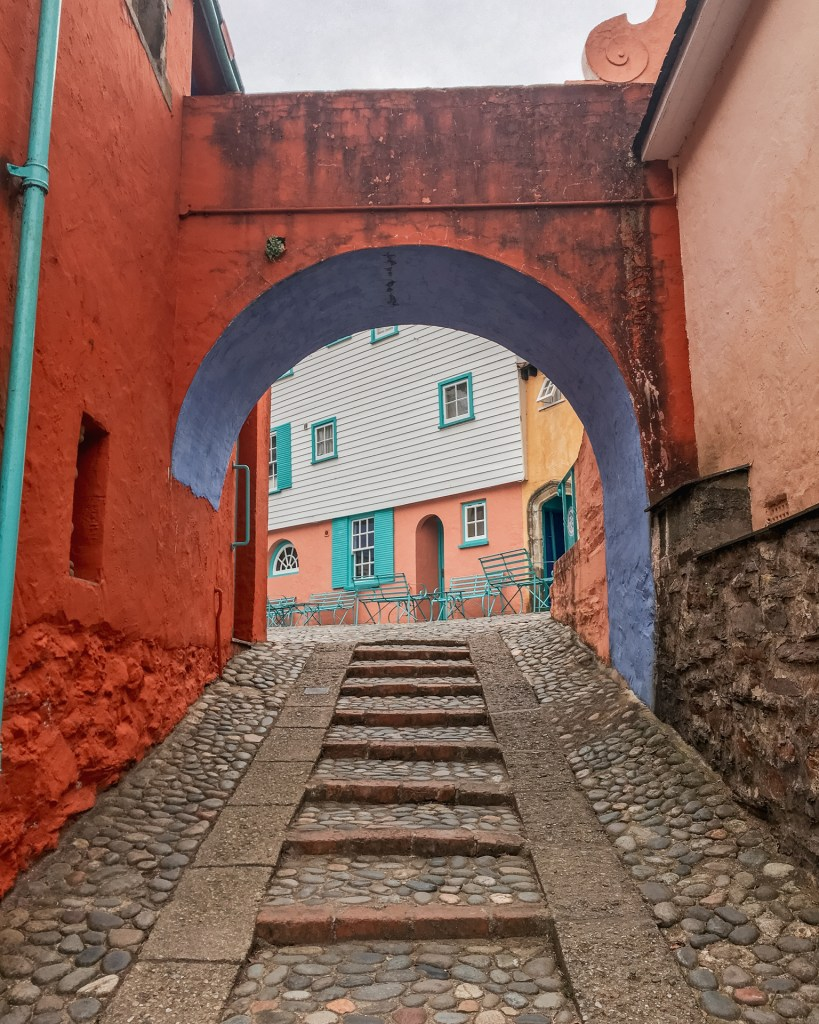 Archway in Portmeirion, North Wales