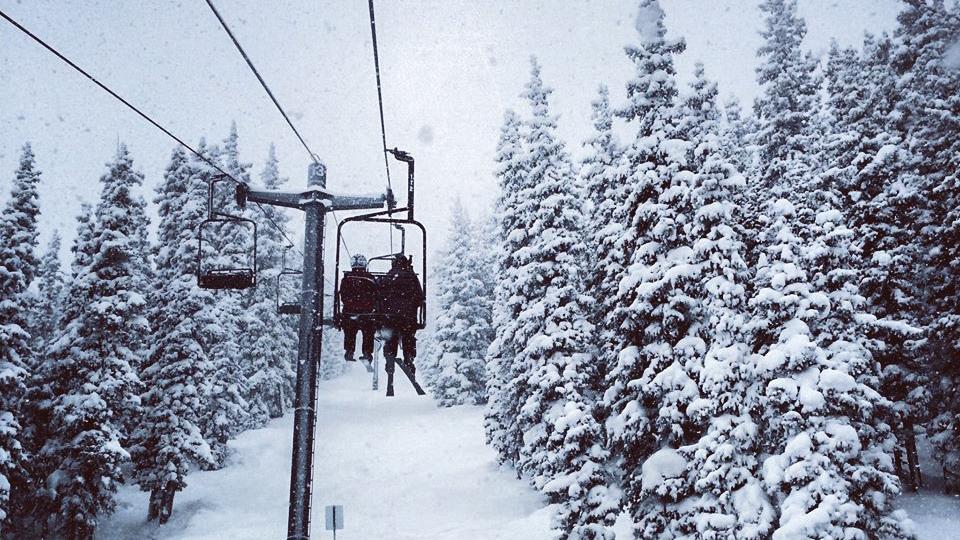 Skiing at Monarch Mountain in Colorado