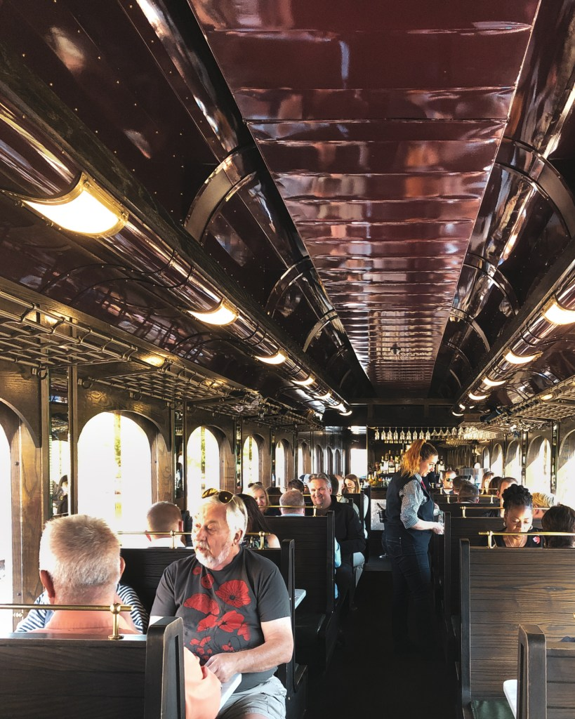 Napa Valley Wine Train Interior