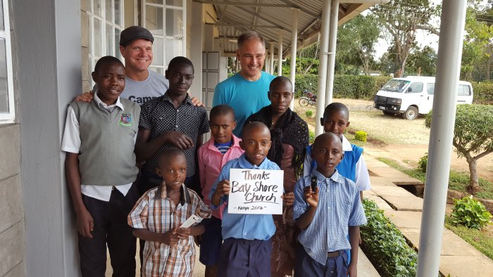 Kenya mission trip. Bay Shore Church.