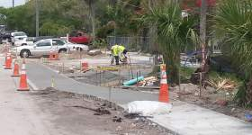 Project Complete Bayview / Lunar Streetscaping