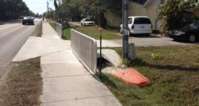 Gateway Triangle Residential Area Stormwater Project Complete