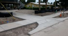 Update on Bayview Drive streetscape
