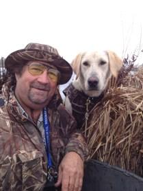 Sal and Bari duck hunting