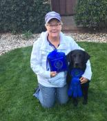 Wendy Rowen with SKY and 1st place win