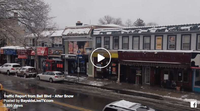 Traffic Report from Bell Blvd – After Snow