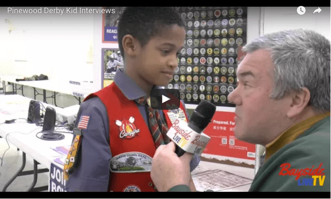 2016 Pinewood Derby Races