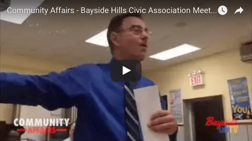 Bayside Hills Civic Association Meeting – Malls & Iconic Structures – 6/29/16
