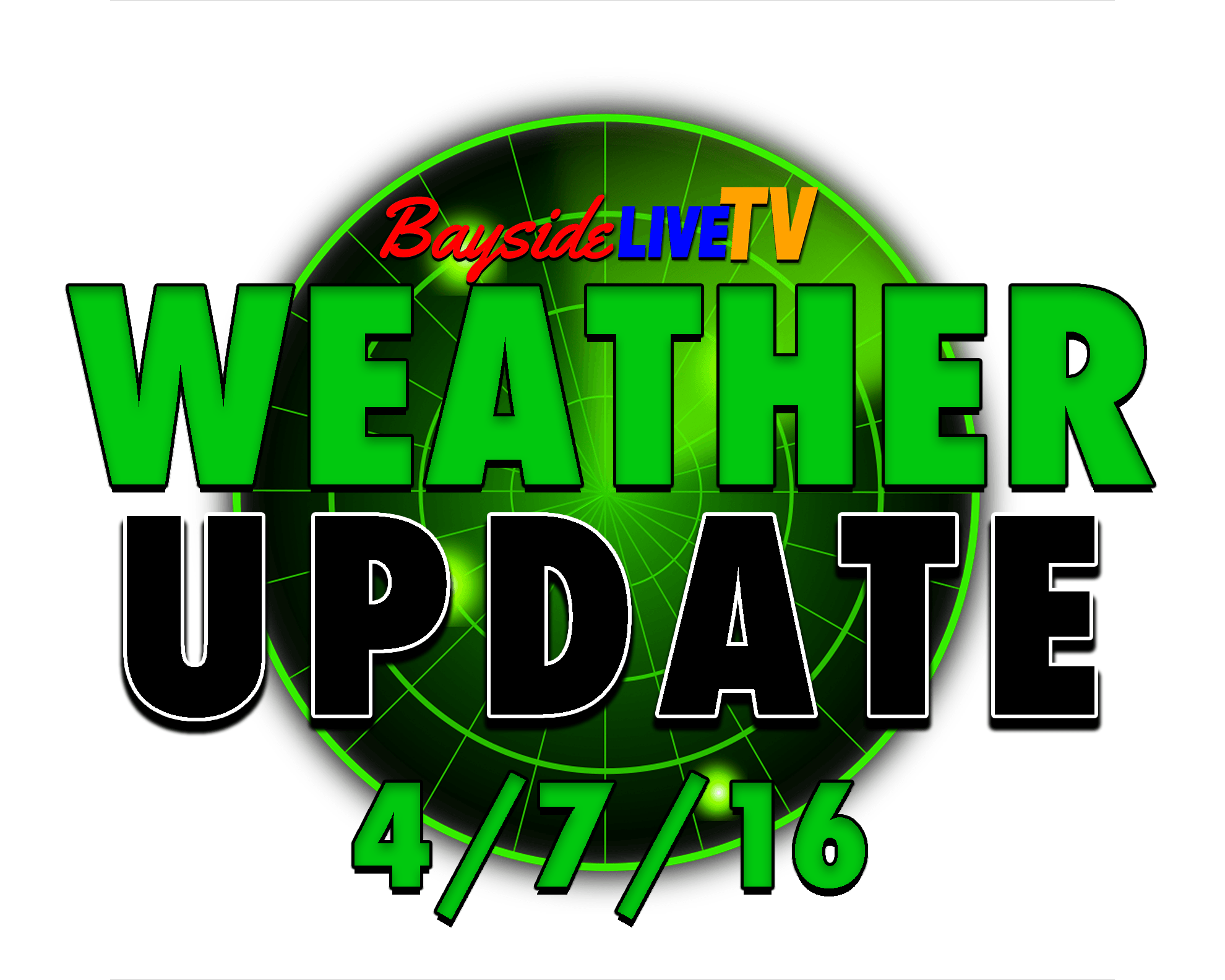 Weather Update 4/7/16