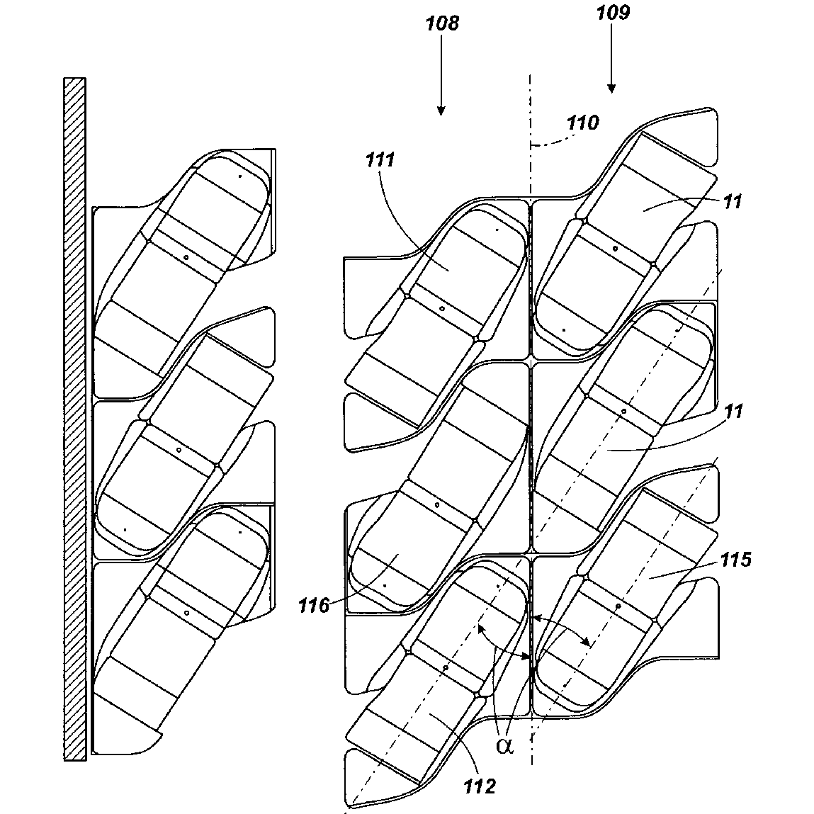 Array Of Aircraft Seats