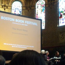 Short Story Panel Discussion-Bad photo, you're not missing much if you can't see it.