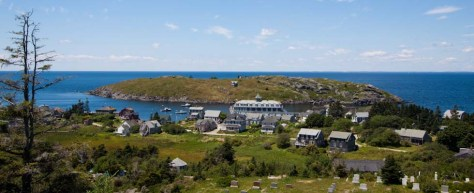 photo of Monhegan Island