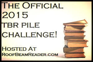 The Official 2015 TBR Pile Challenge badge