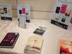 The right half of the award book table