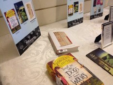 The left half of the award book table