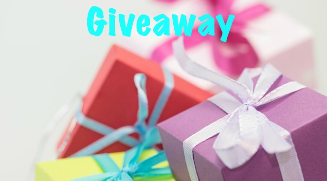 gifts image with text saying Giveaway