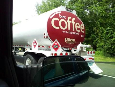 Tank Truck of coffee