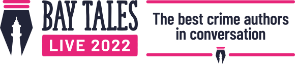 Image of Bay Tales Live 2022 The Best Crime Authors in Conversation logo.
