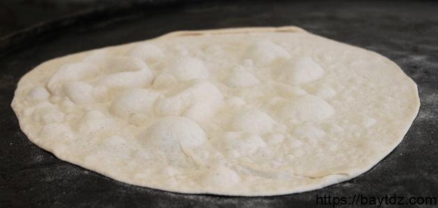 طريقة خبز الصاج