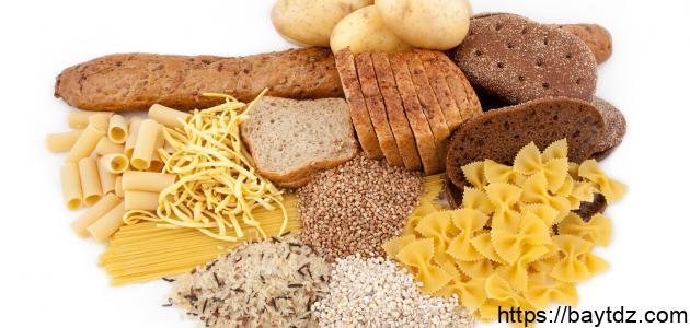 ما هي اطعمة الكربوهيدرات