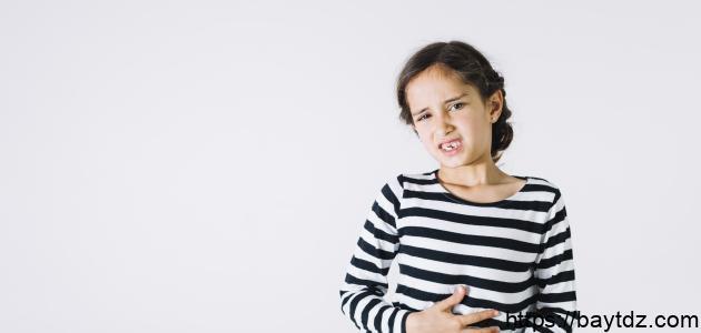 أعراض التهاب جدار المعدة عند الأطفال