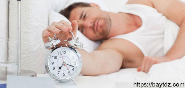 أفضل وقت للنوم والاستيقاظ