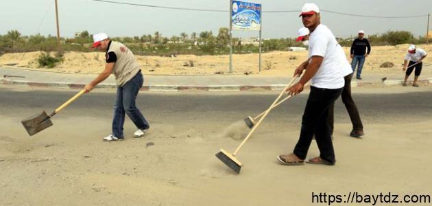 أنواع العمل التطوعي