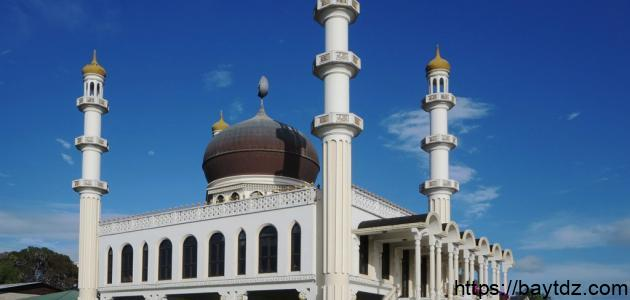 أهمية المسجد في حياة المسلم