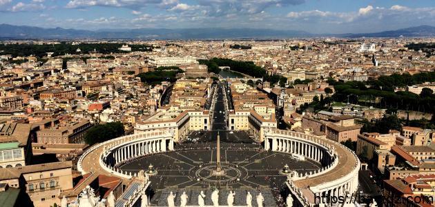 أين تقع دولة روما
