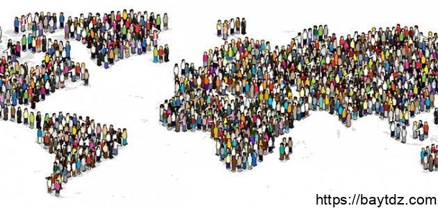 العوامل المؤثرة في توزيع السكان