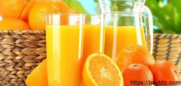 الفيتامينات في البرتقال