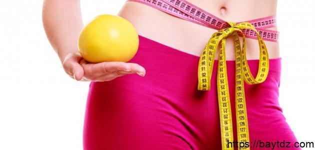 طرق تخفيف الوزن بسرعة دون رجيم