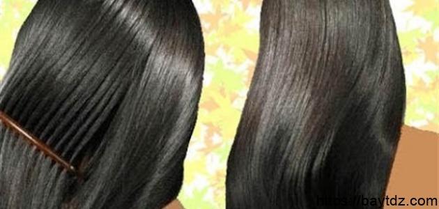 طرق تمليس الشعر المجعد