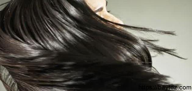 طريقة تفتيح الشعر الأسود