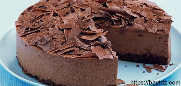 طريقة عمل موس الشوكولاتة بالبسكويت
