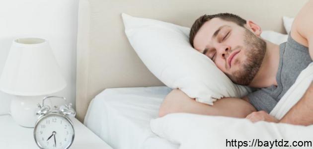 طريقة للنوم العميق