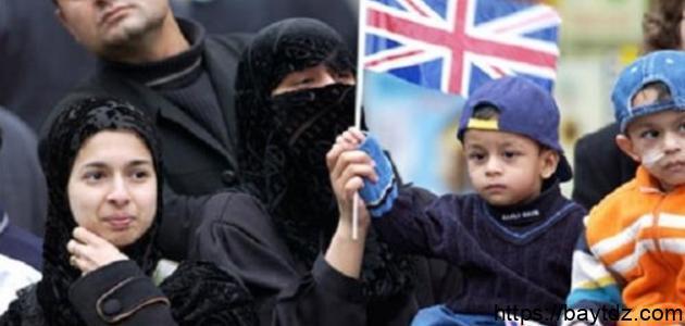عدد المسلمين في بريطانيا