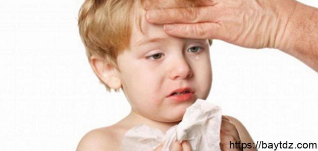 علاج زكام الأطفال