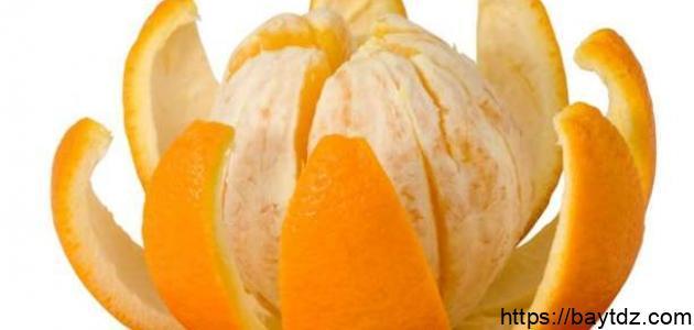 فوائد أكل قشر البرتقال