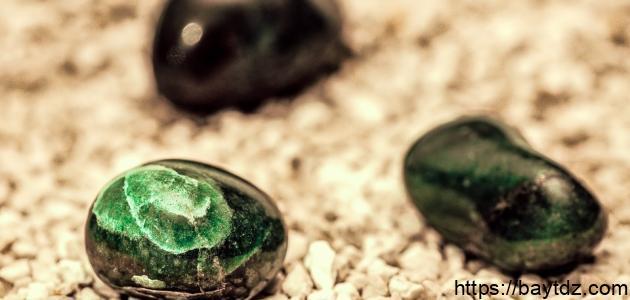 فوائد حجر العقيق الأخضر